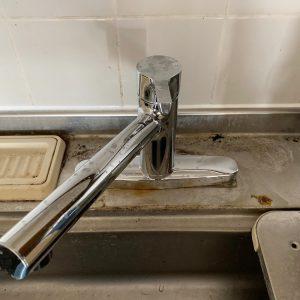 台所水栓交換